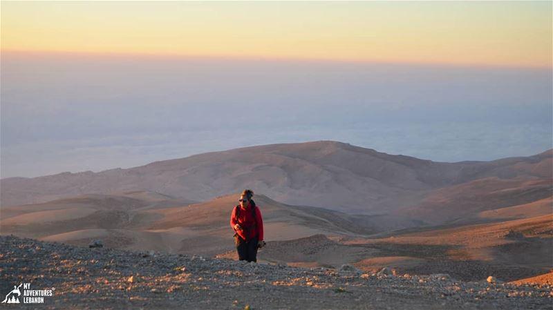 The last assent to 3088m🗻 myadventureslebanon outdoorlife hiking ...