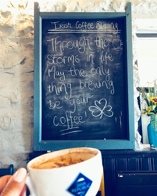 Couldn't have put it better myself ☕️👱🏻♀️💚 lucyinireland coffee... (County Westmeath)