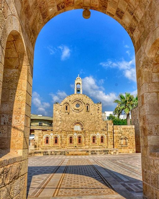 Have a blessed Sunday ....📍Saint Catherine Church, Anfeh, Northern... (Anfeh Al-Koura أنفه الكورة)