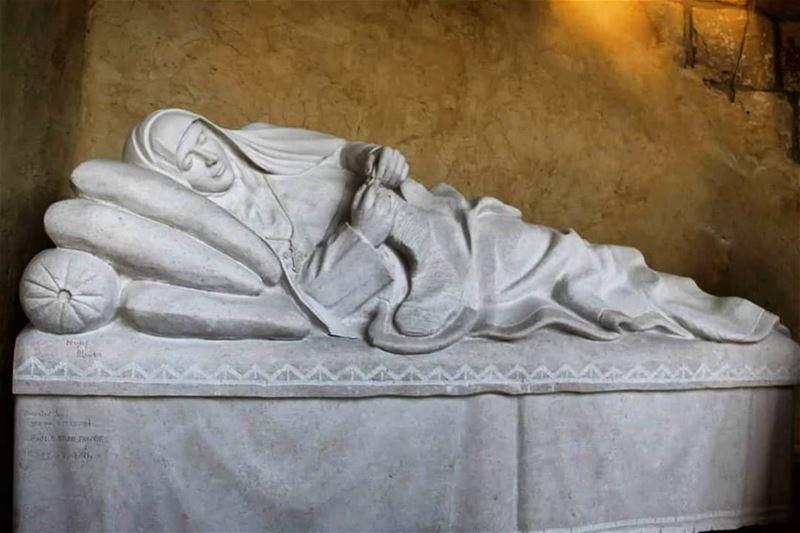 Saint Rafqa ___ nayef_alwan sculptor artist art sculpture work ...