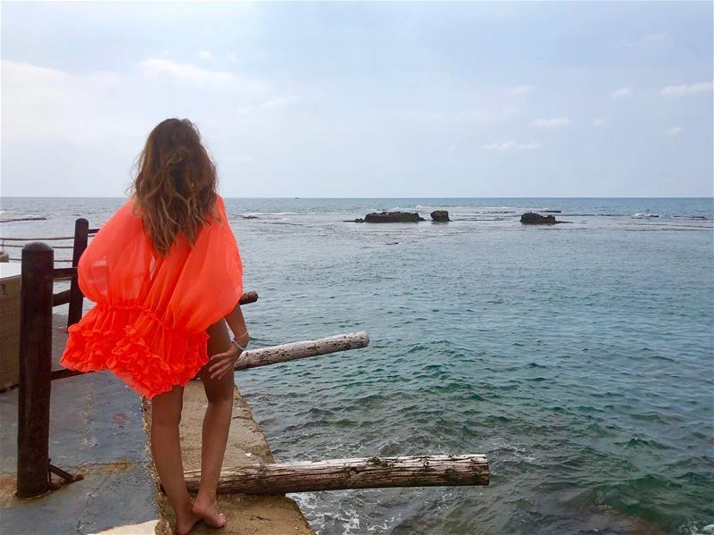 The art of living is letting go.. Forget what hurt u but never forget what... (Byblos - Jbeil)