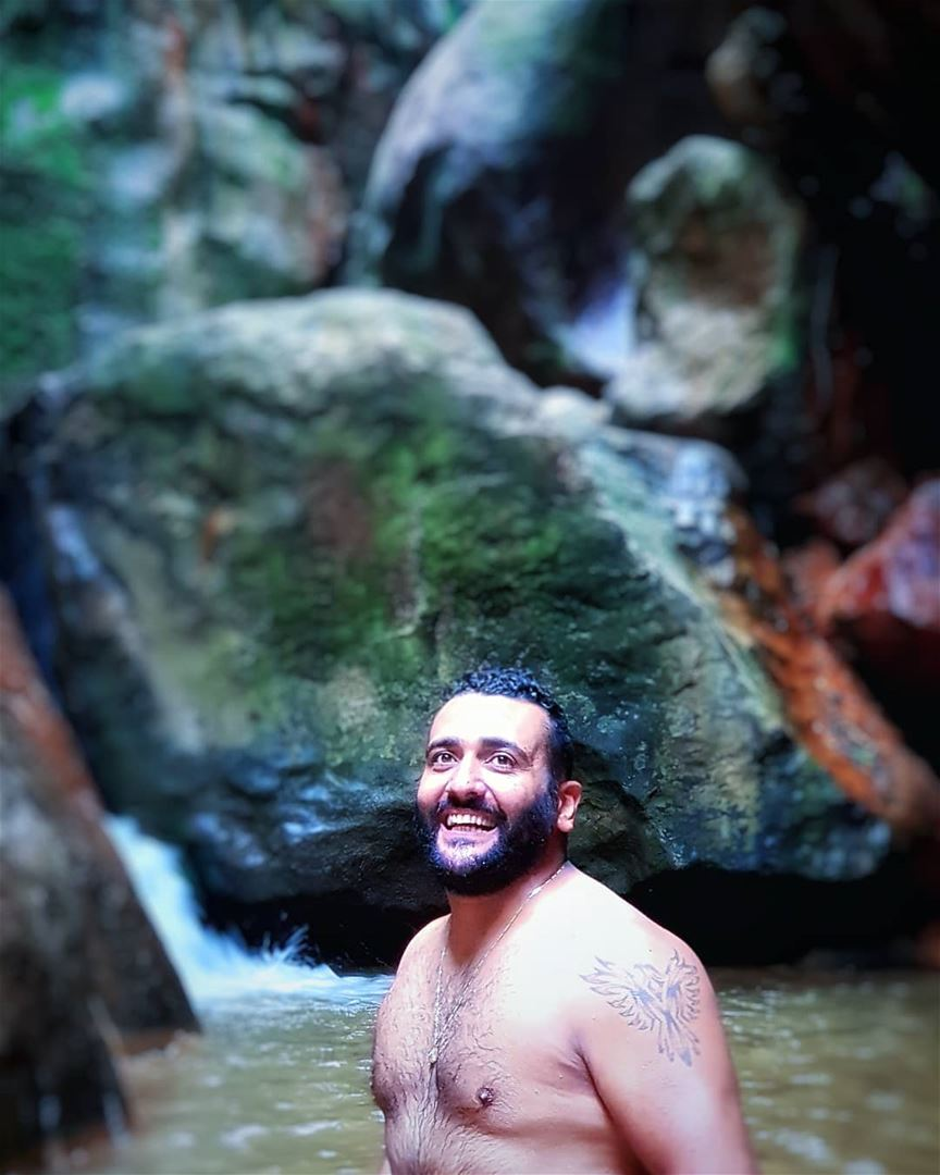 Meet the coach @royfarhat1987 lebanon waterfall nature instadaily ...