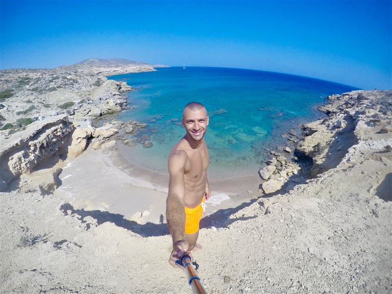 ....... earthperfection livetotravel livetoexplore gopro gpotd... (Prasonisi Beach)