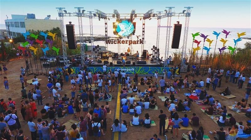 batroun wickerpark festival September_8 music البترون_سفرة ... (Batroun)