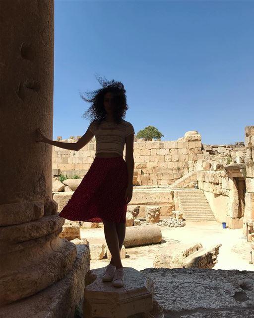 ❤️ baalbeck heliopolis ruins temple lebanon summer tourism amazing...