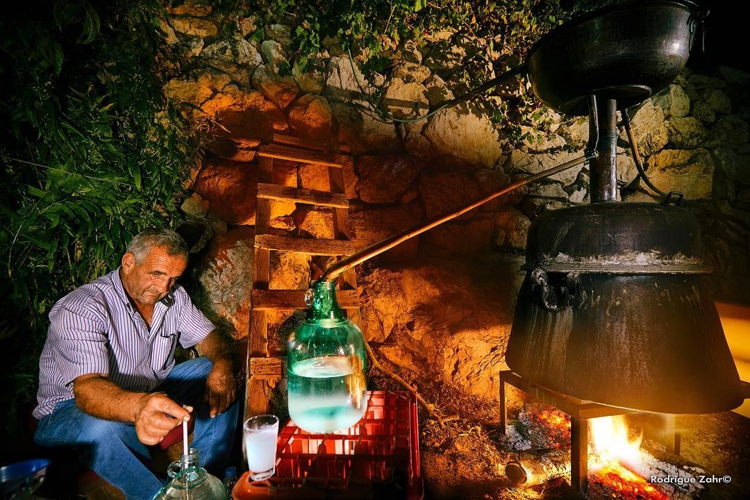 Kerkeh is a traditional middle-eastern distillery device used to make...