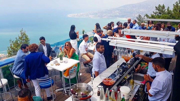 Taking this summer to new heights📍@theterrace_lebanon AtTheTop ... (The Terrace - Restaurant & Bar Lounge)