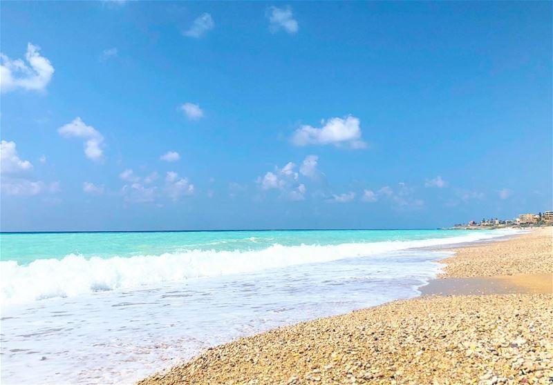 Salty But Sweet 💙 no edit meetlebanon maldiveslooklike lebanon ... (Saïda, Al Janub, Lebanon)