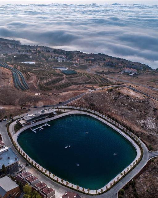 Zaarour Lake 🛶... zaarour lebanon dji drones quadcopter aerial ... (Zaarour Club)