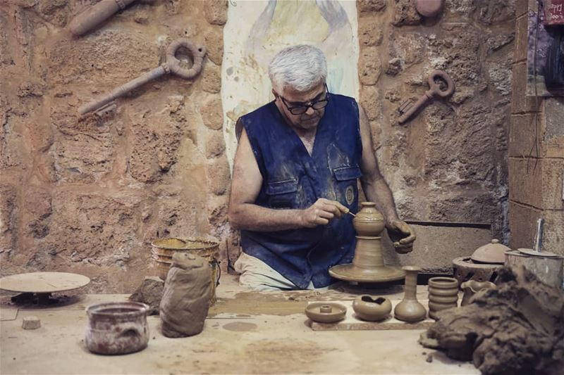 The potter. ___________________________________________________... (Tripoli, Lebanon)