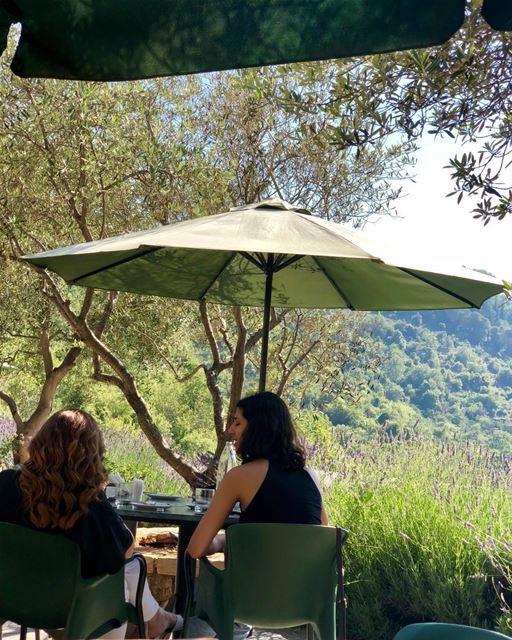 Taking in the Scenic view @Bouyouti b&b livelovechouf visitlebanon ... (Bouyouti)
