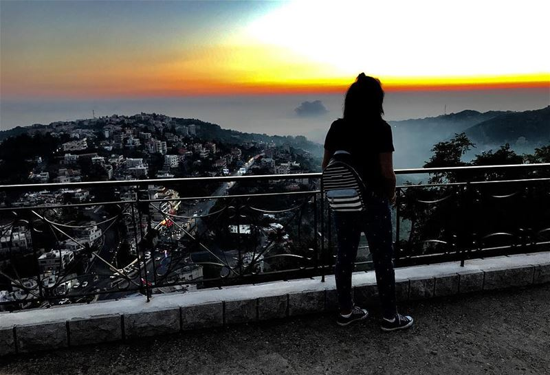 Can't get enough of watching the sunset 🌅 ••••••••••••... (Feitroun, Mont-Liban, Lebanon)