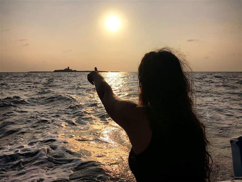 Leave me there😍 sunset sunsetlover beachlover lebanonsunset ...