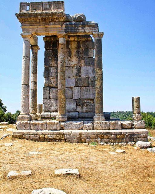 Shir El Meidan🏛, holding the Roman temple dedicated to Adonis, whose...