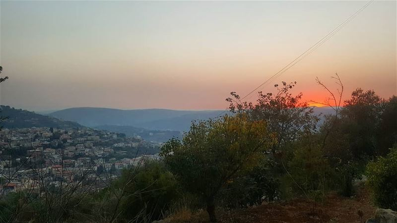 sunset  magicalview  hasbaya  hasbaya_pictures  livelovelebanon ... (Hasbaya)