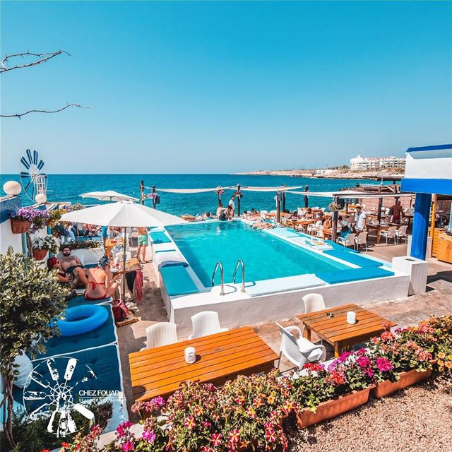The weekend destination ☀️ -- chezfouad tahetelrih seafoodrestaurant ...