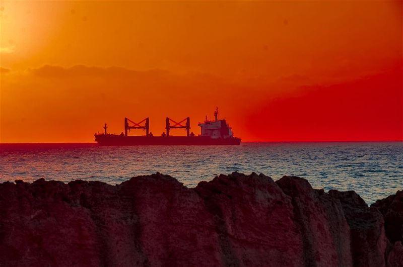 Perfection is like chasing the Horizon.. Keep Moving......📍Phoenician... (Batroûn)