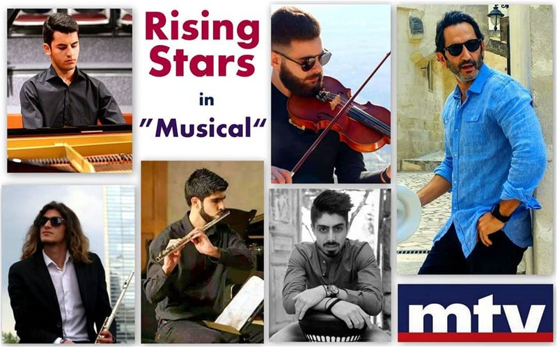 """Fusion Music with Rising Stars""Presented by Ghassan_YammineThis Sunday... (MTV Lebanon)"