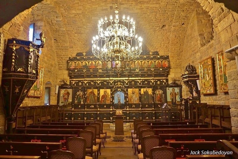 Deir Mar Elias shouaia dhourshweir monastery church mountlebanon ...