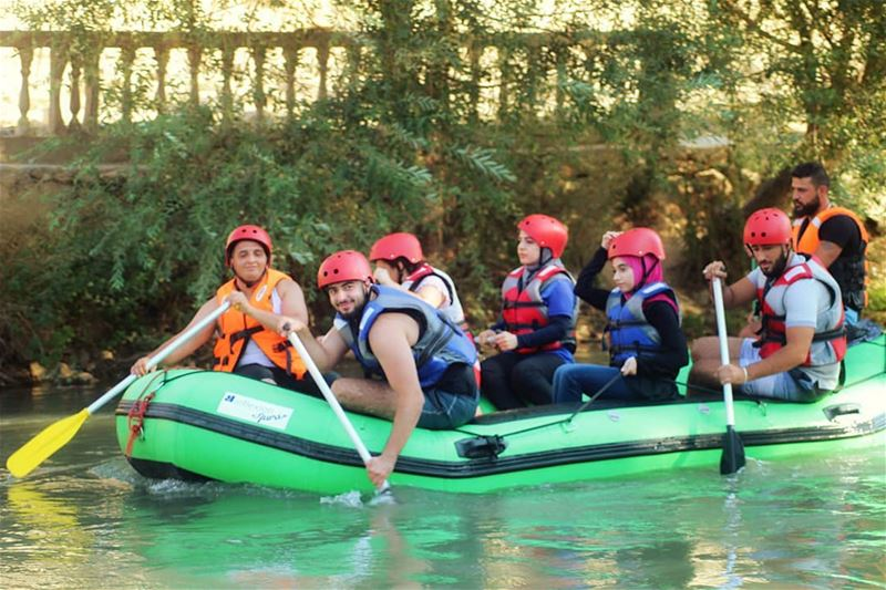 Summer isn't over yet! fun raftingtrip assiriver assi_river hermel ... (El Hermel, Béqaa, Lebanon)