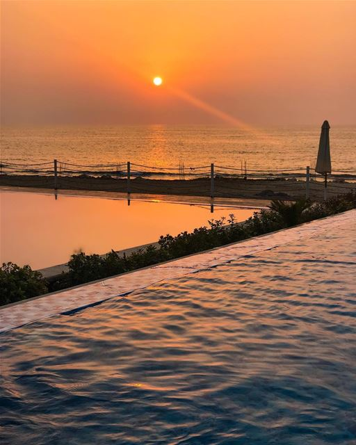 Sunset @suwaresort .... lebanon lebanon🇱🇧 lebanonspotlights ...