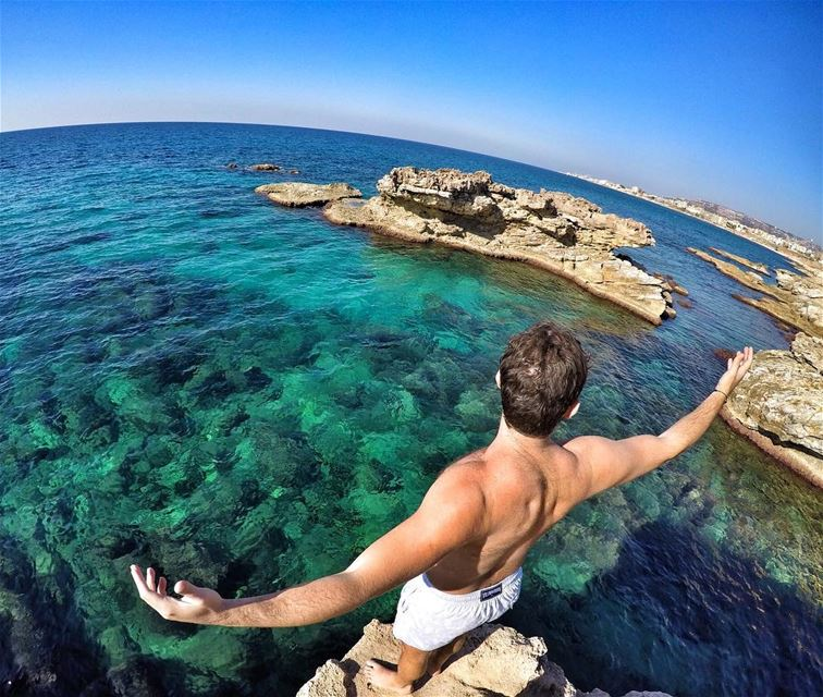 Open your wings and Fly 💫 ExploreWithChris. whpadventure  Lebanese ... (Kfar Abida)