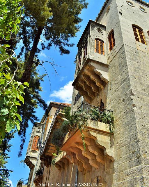 El Mukhtara palace elchouf elmokhtara المختارة heritage palace ... (El-Mukhtarah, Mont-Liban, Lebanon)