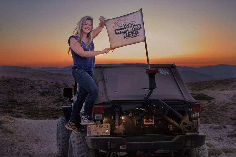 Happiness recipe: Sunset, Jeep and Seven Slot jeep Lebanon lebanon ...