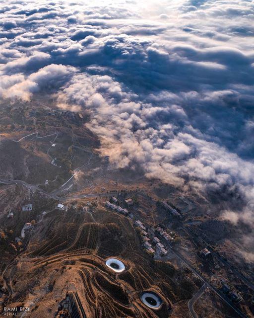 Spot the face 😀... zaarour lebanon dji drones quadcopter aerial ... (Zaarour Hills)
