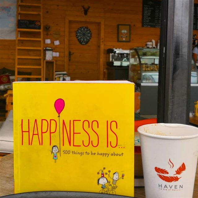 Happiness is a cozy coffee shop that you can re-find yourself ... (Haven - the Cabin)