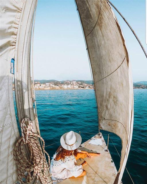 batroun البترون_سفرة sailing sailingboat sea mediterraneansea ... (Batroun)