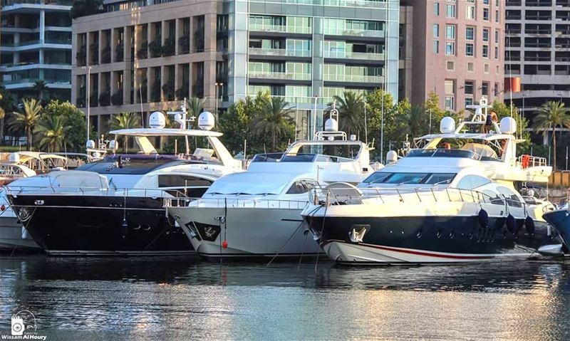 yacht yachtlife marinelife luxury luxurylifestyle beirut zaitounabay... (Zaitunay Bay)