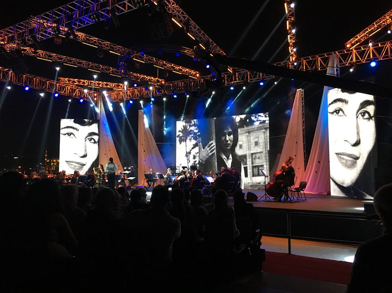 An evening enjoyed more than expected! Thank you @sidoninternationalfestiva (Saïda, Al Janub, Lebanon)