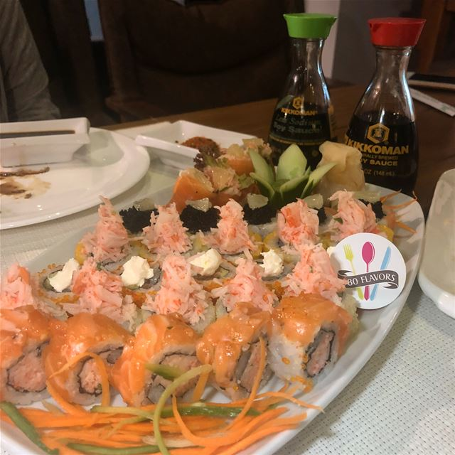 Sushi time 😍😍 tasty bites @kyotolebanon @oceanclubehden ehden miden .... (Maydan Ehden)