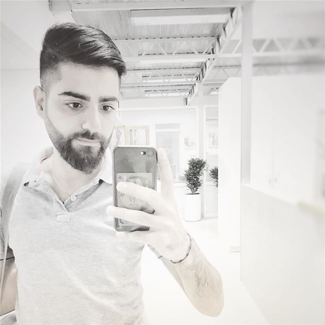 Good morning goodmorning positivevibes newhaircut haircut men ... (Zouk Mosbeh)