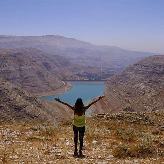 Water is the driving force of all nature 💙 water chabrouh dam savewater... (Chabrouh-Faraya)
