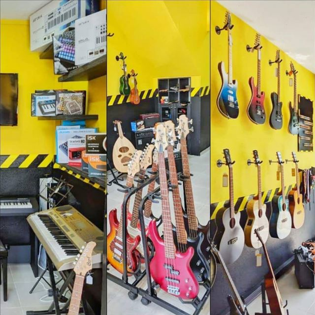 Satisfy your musical needs at Instruments Garage Batroun.📌Facing Ogero📞 (Batroun)