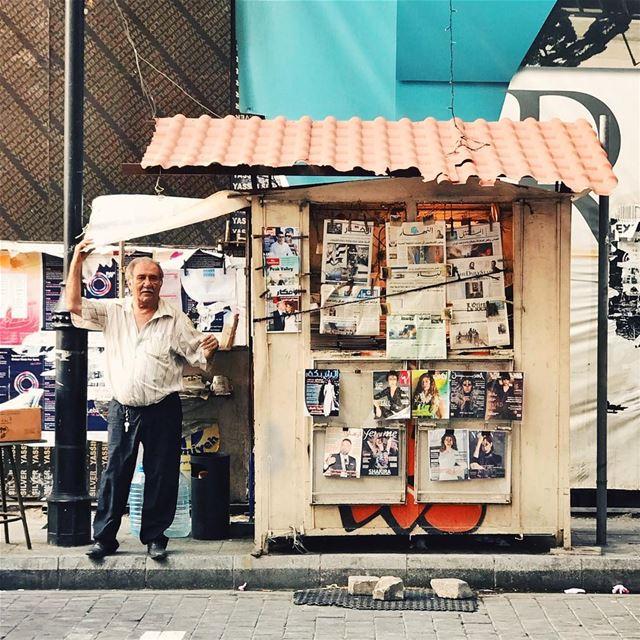 •Good morning, any news?••• Lebanon Beirut streetphotography ... (Hamra - حمراء)