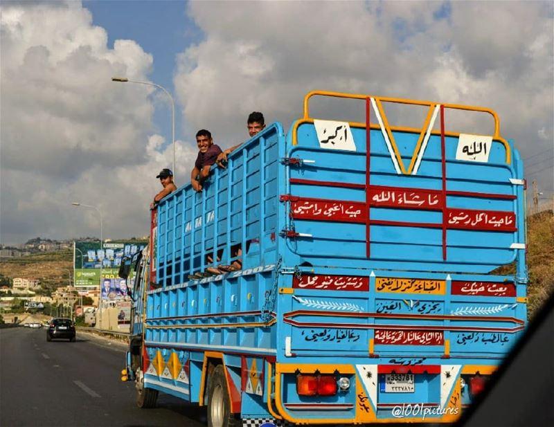 Hop in... Only in Lebanon! 😋... travel tb lebanon nikon ... (Sidon, Lebanon)