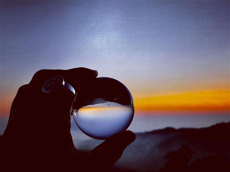 My magic ball ....🌅••••••••••••• sunset sunset_stream ...