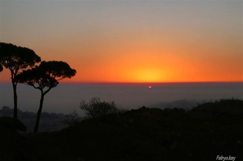 BHAMDOUN 🌳🏜️🌇🌳 LEBANON=============================== libanon sunset... (Bhamdoûn, Mont-Liban, Lebanon)