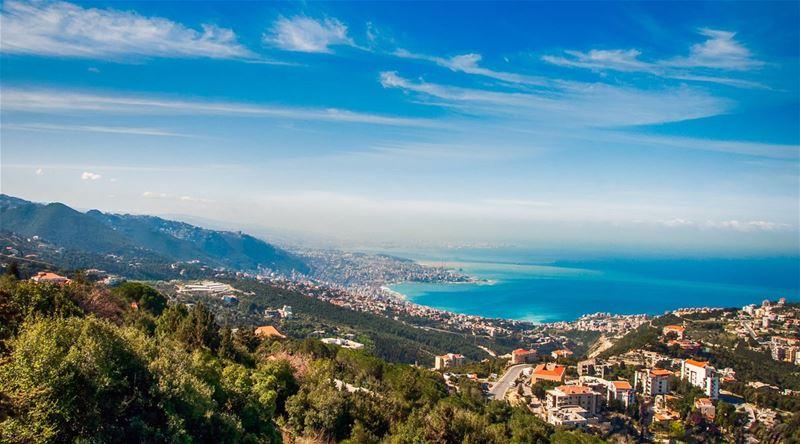 Jounieh Bay Lebanon in the Morning