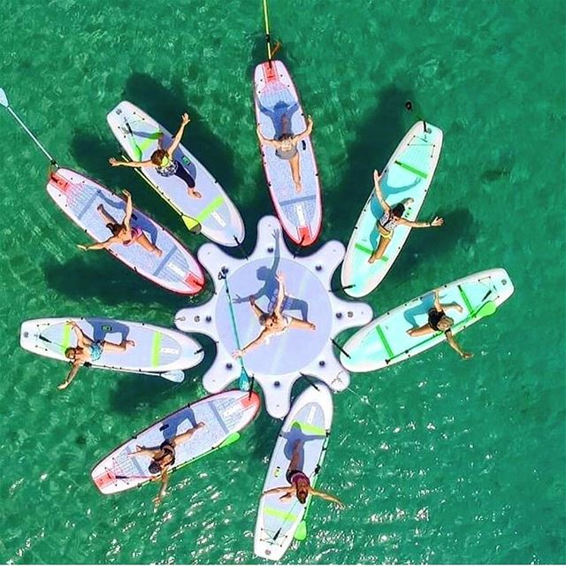 Come experience the real SUP YOGA in the sea ✨✨✨Take advantage of our... (Surf Shack Lebanon)