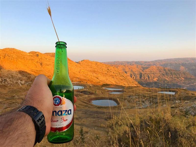 Atyab Beera! 🍺 lebanon 🇱🇧 beer 🍻 wein_maher 🤷🏻♂️........... (Akoura, Mont-Liban, Lebanon)