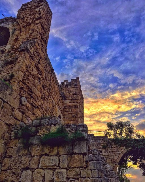 They can crumble they can fall, in the end wont matter al all, its the... (Byblos, Lebanon)