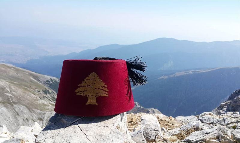 Lebanon is always on the top vihrenpeak bulgaria livelovebulgaria ... (Vihren Peak, 2914 m, Pirin Mountains, Bulgaria)