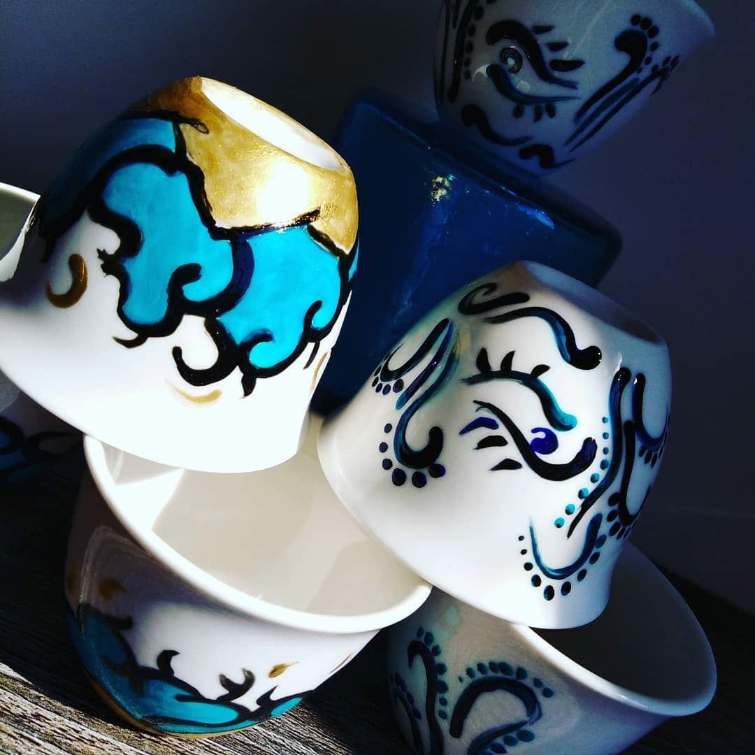 Handpainted chaffe@maison_de_lartisan handpainted chaffe artisanal ...