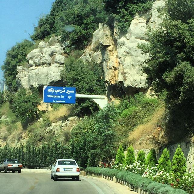 Welcome to Syr 🇱🇧 👏🏻 northlebanon ... (Sir Ad Dinniyah, Liban-Nord, Lebanon)