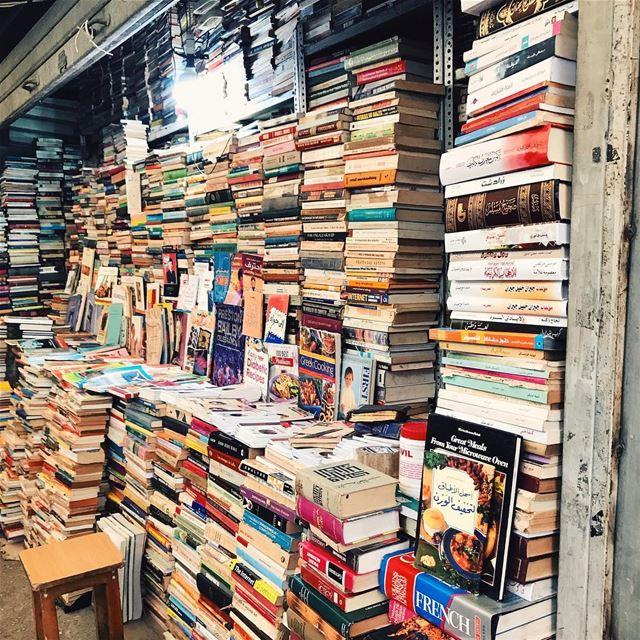 •le librerie che mi piacciono••• Lebanon Beirut Library ... (سوق الاحد الشعبي souk el ahad)