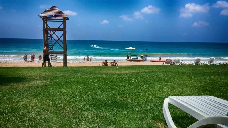 Turqouise Beach South Lebanon